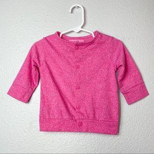 Baby Isaac Mizrahi Target pink cardigan 12 months